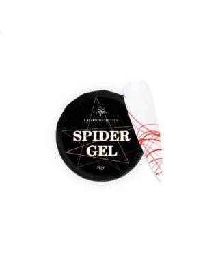 Τζελ για nail art Laloo Cosmetics Spider Gel 8g Red