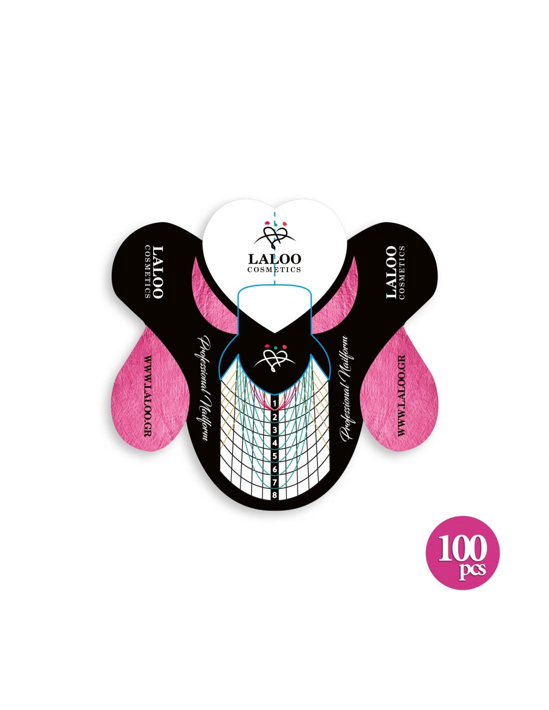 Λαδάκι επωνυχίων Laloo Cosmetics Jasmine, Vanilla & Pink