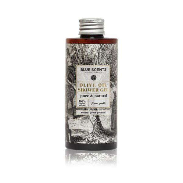 Αφρόλουτρο σώματος Blue Scents Olive Oil Shower Gel Pure & Natural 300ml