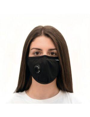 Μάσκα προστασίας FSK Μάσκα με ενεργό φίλτρο άνθρακα - Μαύρη