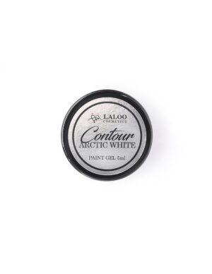 Τζελ για nail art Laloo Cosmetics Contour Paint Gel 5g Arctic White