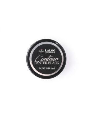 Τζελ για nail art Laloo Cosmetics Contour Paint Gel 5g Panter Black