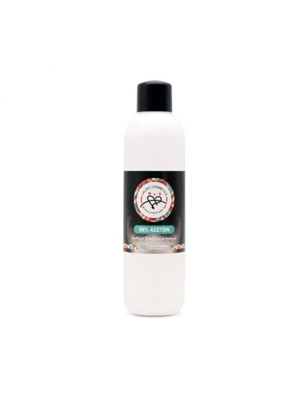 Καθαρό ασετόν Laloo Cosmetics 99% Acetone 1000ml