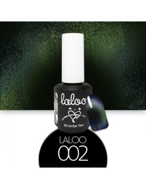 Laloo Cosmetics Cat Eye 5D 15ml N.02 Σμαραγδί σκούρο