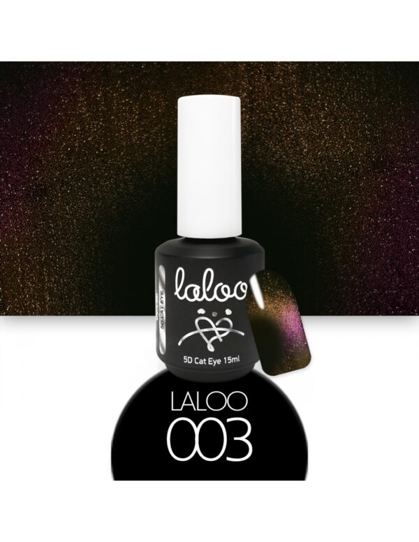 Laloo Cosmetics Cat Eye 5D 15ml N.03 Φούξια-Μωβ