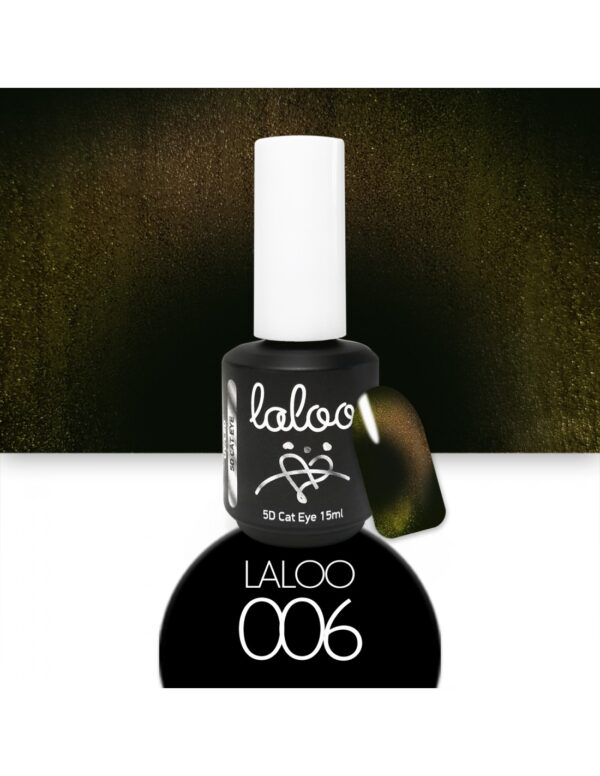 Laloo Cosmetics Cat Eye 5D 15ml N.06 Χρυσό-Bronze