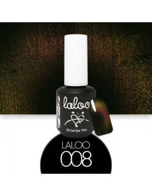 Laloo Cosmetics Cat Eye 5D 15ml N.08 Ροζ-λαδί-Χρυσό
