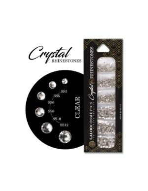 Laloo Cosmetics Crystal Rhinestones Clear 1500τμχ.