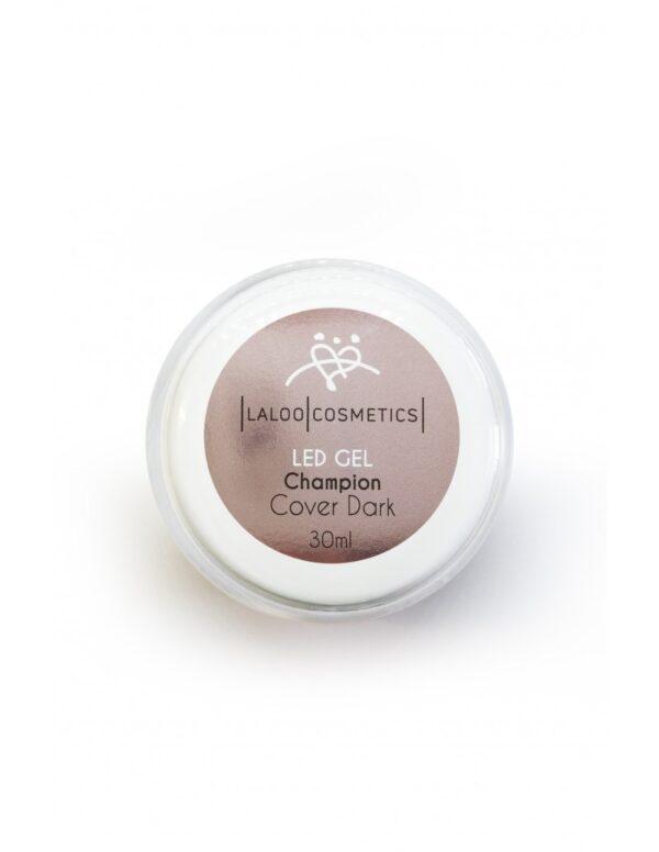 Μονοφασικό τζελ χτισίματος Laloo Cosmetics LED Gel Champion Cover Dark 30ml