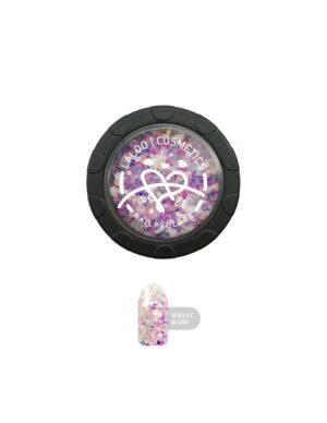 Σκόνη nail art Laloo Cosmetics Rainbow Glass Powder N.01
