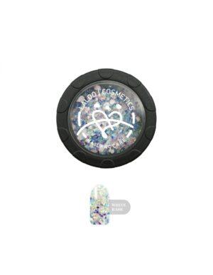 Σκόνη nail art Laloo Cosmetics Rainbow Glass Powder N.02