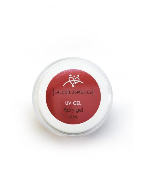 Μονοφασικό τζελ χτισίματος ίνες ακρυλικού Laloo Cosmetics UV Gel Acrygel 30ml