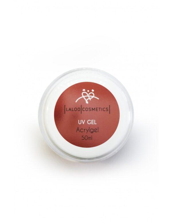 Μονοφασικό τζελ χτισίματος ίνες ακρυλικού Laloo Cosmetics UV Gel Acrygel 50ml