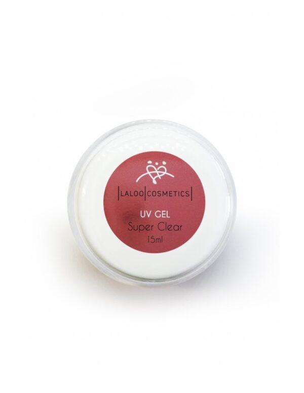 Μονοφασικό τζελ χτσίματος Laloo Cosmetics UV Gel Super Clear 15ml