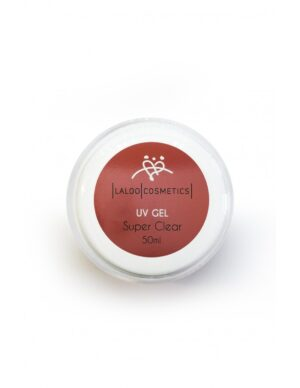 Μονοφασικό τζελ χτσίματος Laloo Cosmetics UV Gel Super Clear 50ml
