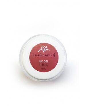 Μονοφασικό τζελ χτισίματος Laloo Cosmetics UV Gel White 30ml