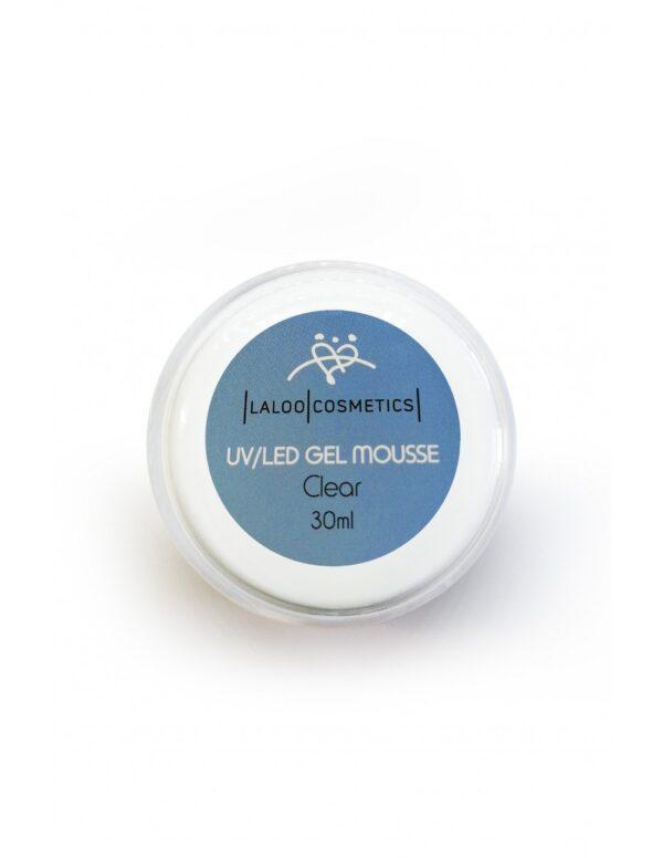 Μονοφασικό τζελ χτσίματος Laloo Cosmetics UV/LED Gel Mousse Clear 30ml