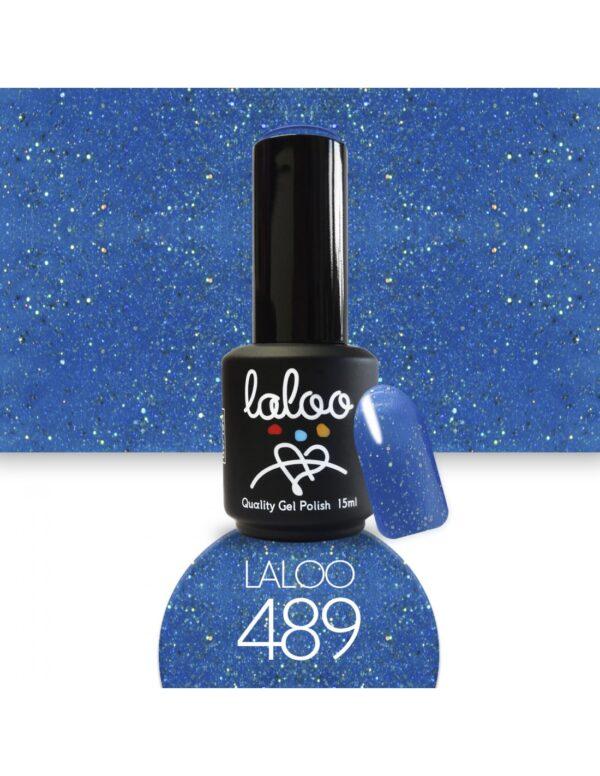 Ημιμόνιμο βερνίκι Laloo Cosmetics 15ml - N.489