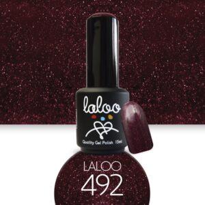 Ημιμόνιμο βερνίκι Laloo Cosmetics 15ml - N.492