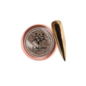 Σκόνη nail art Laloo Cosmetics Titanium Color Mirror Powder N.04
