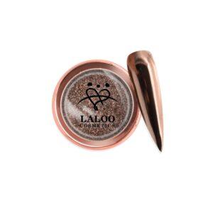 Σκόνη nail art Laloo Cosmetics Titanium Color Mirror Powder N.05