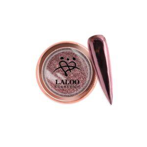 Σκόνη nail art Laloo Cosmetics Titanium Color Mirror Powder N.06