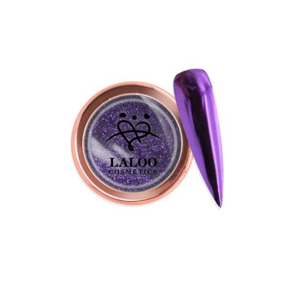 Σκόνη nail art Laloo Cosmetics Titanium Color Mirror Powder N.12