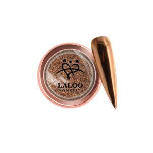 Σκόνη nail art Laloo Cosmetics Titanium Color Mirror Powder N.13