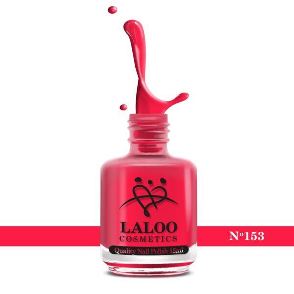 Απλό βερνίκι Laloo Cosmetics 15ml - N.153 Τριανταφυλλί ανοιχτό