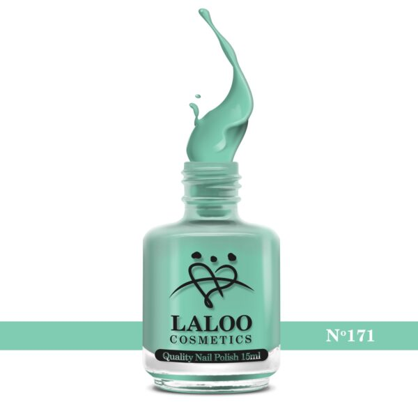 Απλό βερνίκι Laloo Cosmetics 15ml - N.171 Aqua