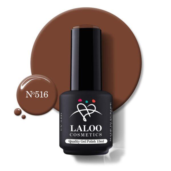 Ημιμόνιμο βερνίκι Laloo Cosmetics 15ml – N.516