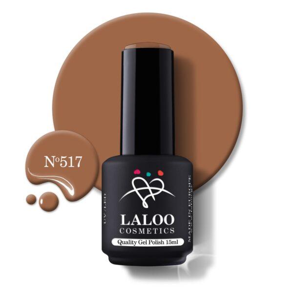 Ημιμόνιμο βερνίκι Laloo Cosmetics 15ml – N.517