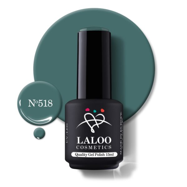 Ημιμόνιμο βερνίκι Laloo Cosmetics 15ml – N.518