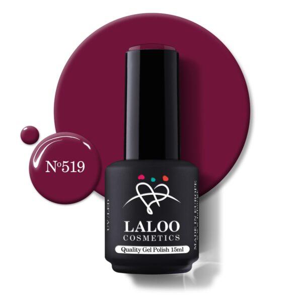 Ημιμόνιμο βερνίκι Laloo Cosmetics 15ml – N.519