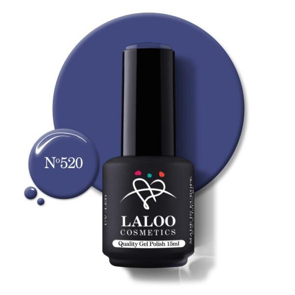 Ημιμόνιμο βερνίκι Laloo Cosmetics 15ml – N.520