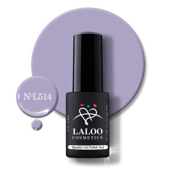 Ημιμόνιμο βερνίκι Laloo Cosmetics 7ml – N.514
