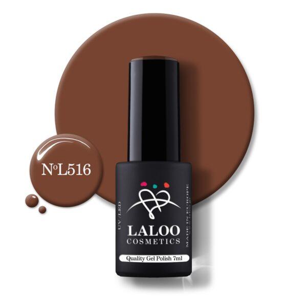 Ημιμόνιμο βερνίκι Laloo Cosmetics 7ml – N.516