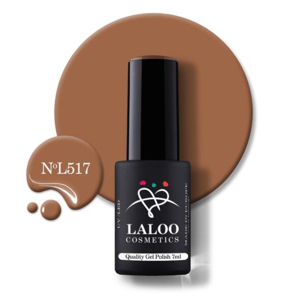 Ημιμόνιμο βερνίκι Laloo Cosmetics 7ml – N.517
