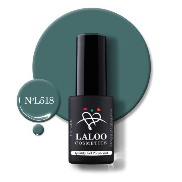 Ημιμόνιμο βερνίκι Laloo Cosmetics 7ml – N.518