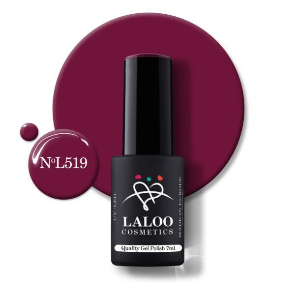 Ημιμόνιμο βερνίκι Laloo Cosmetics 7ml – N.519