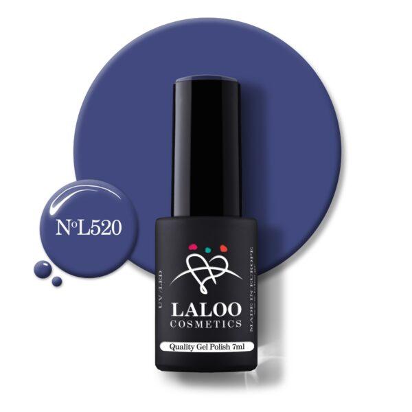 Ημιμόνιμο βερνίκι Laloo Cosmetics 7ml – N.520